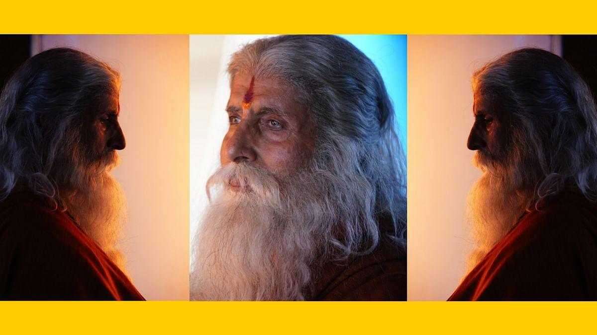 Amitabh Bachchan shared his look from the Chiranjeevi's period film,  <i>Sye Raa Narasimha Reddy</i>.
