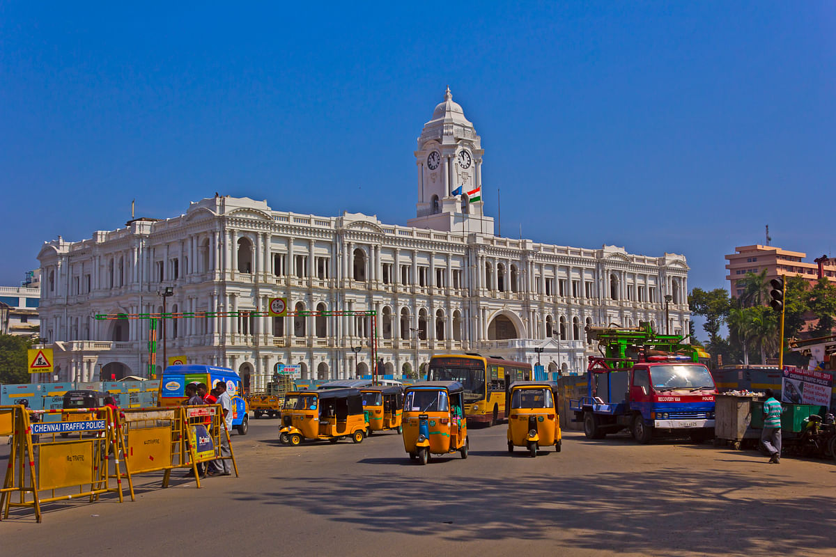 Chennai outdoes other cities in the Motor Laws and Traffic Control category.