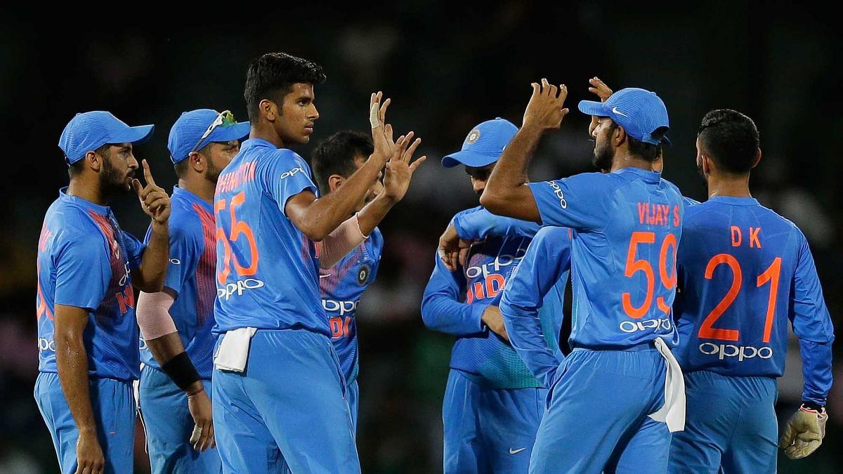 After B'desh Win, Rohit Sharma All Praise For Washington Sundar
