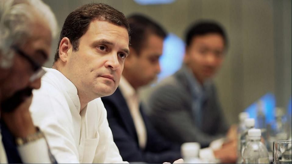 Congress President Rahul Gandhi was recently interacting with the Indian diaspora in Singapore.