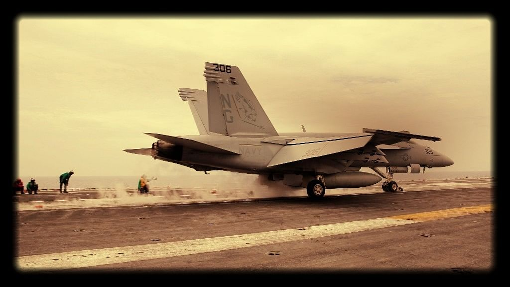 File photo of An F/A-18 Hornet fighter jet.