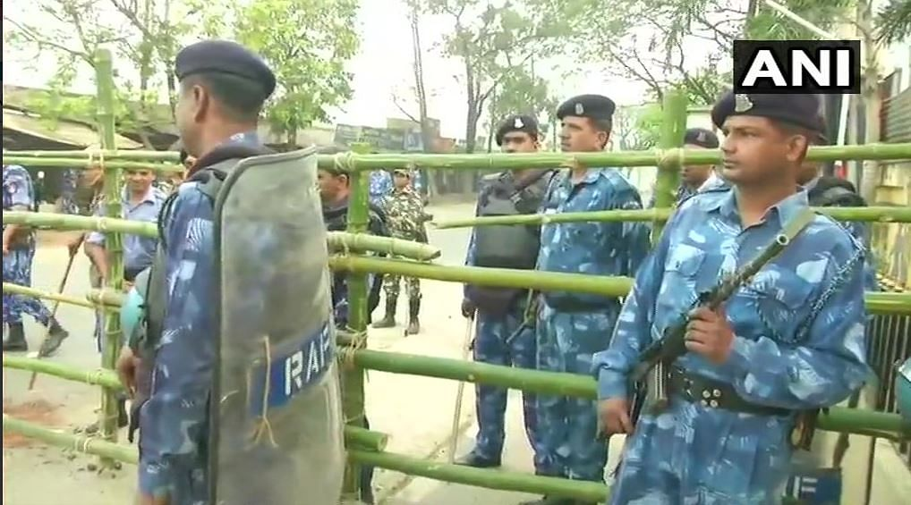 Security beefed up for counting day in Tripura.
