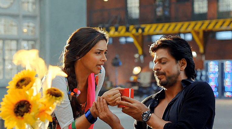Remember <i>Happy New Year,</i> when Shah Rukh Khan's character seems to take exquisite pleasure in chiding Deepika's character as though she were a five-year-old infant?