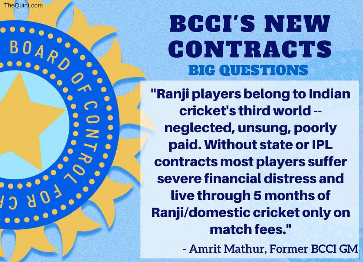 BCCI's New Player Contracts – Mithali Raj Handed a Bad Deal