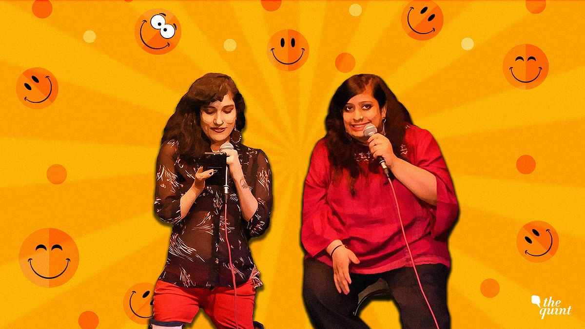 Meet Shivangi Agrawal and Sweta Mantrii and  their own version of stand-ups.