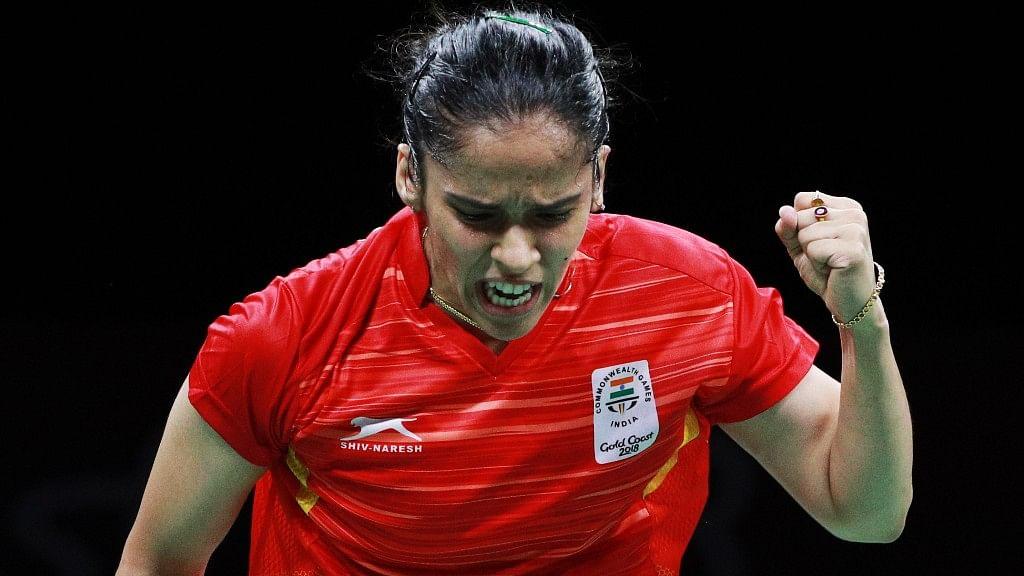 Saina Nehwal has entered the quarter-finals of the Korea Open.