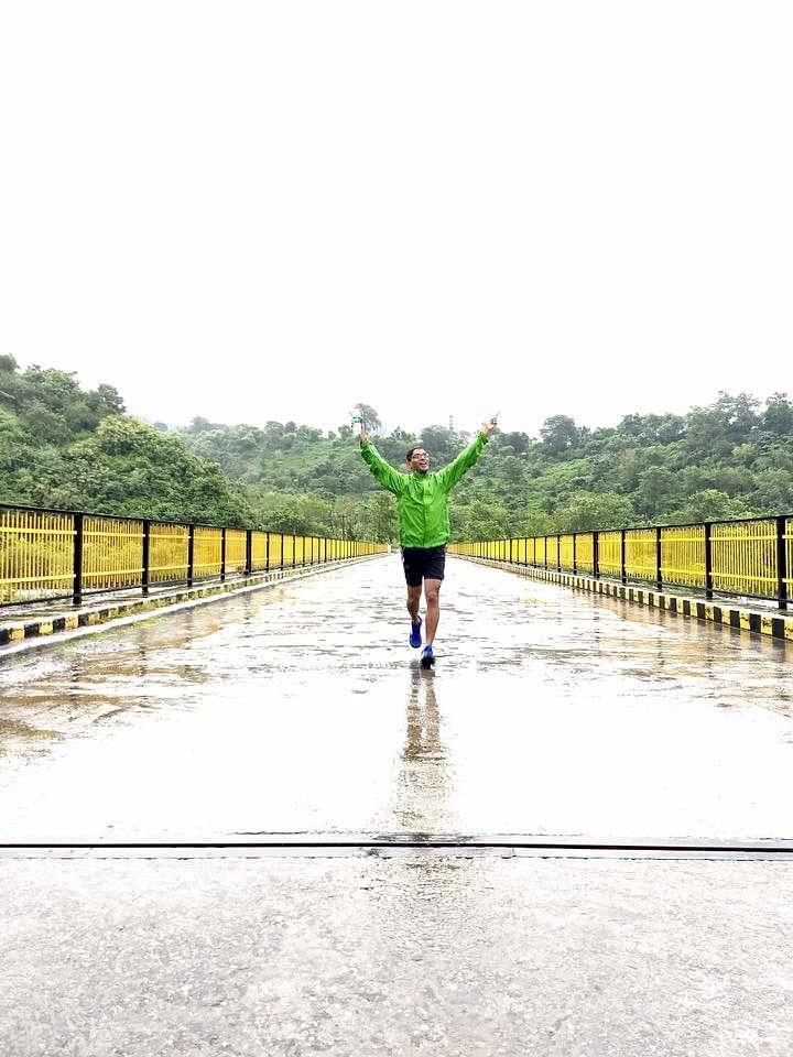 Uttarkashi 135 mile is single stage ultra marathon through the lower Himalayas.