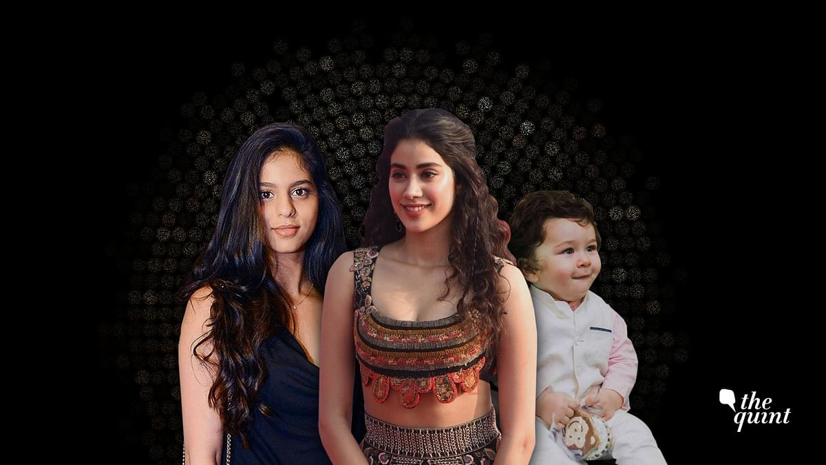 Suhana Khan, Janhvi Kapoor, Taimur Ali Khan are the biggest news makers in the time and age of social media.