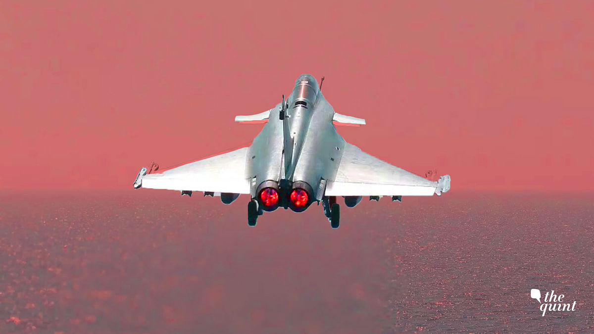 An image of a French Rafale fighter used for representational purposes.