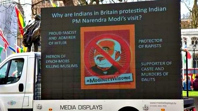 Kathua Rape: Angry Londoners Greet Modi With 'Not Welcome' Signs