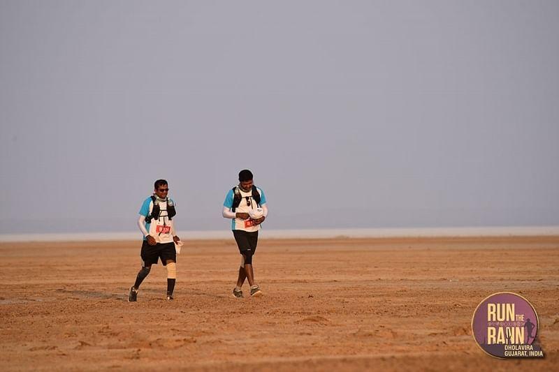 Run the Rann, set in the ancient ruins of Dholavira in Gujarat.