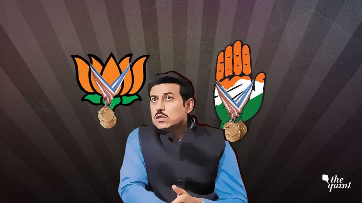 Dear Mr Rajyavardhan Rathore, Did You Win Silver  for UPA in 2004?