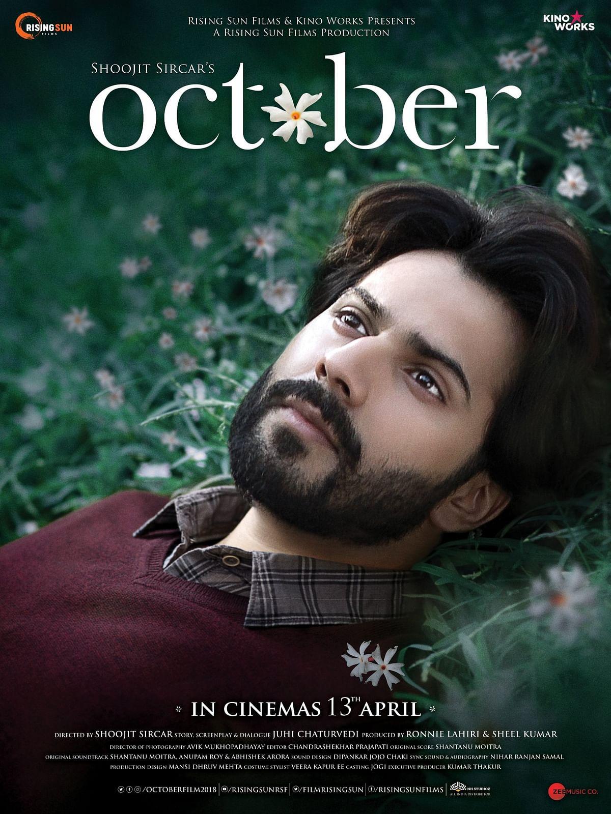 A poster of <i>October.</i>