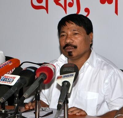 Asom Gana Parishad (AGP) president Atul Bora. (Photo: IANS)