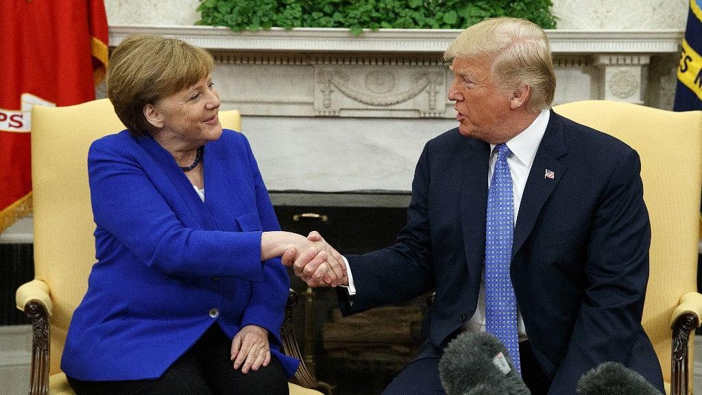 Despite Warmth, Merkel-Trump Still Differ on Trade and NATO