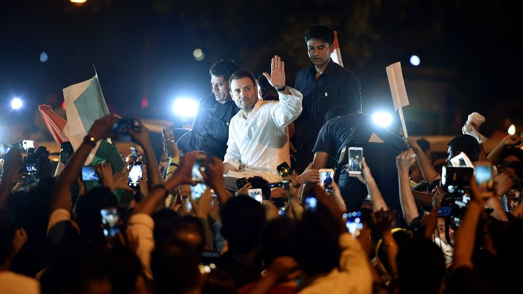 Rape Not a Political But a National Issue: RaGa at Candle March