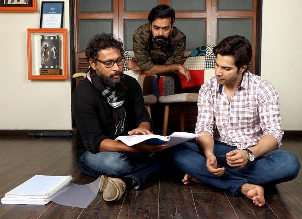 Shoojit, Ronnie Lahiri and Varun Dhawan.