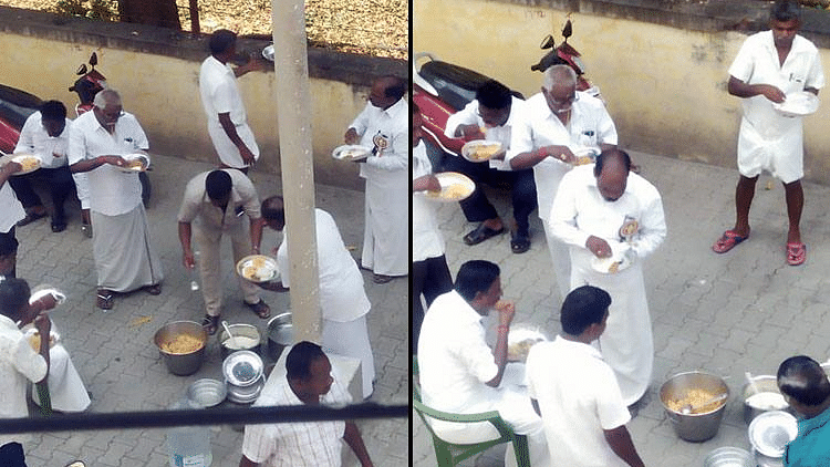 AIADMK Hunger Strike With a Plate of Biryani or Tomato Rice?