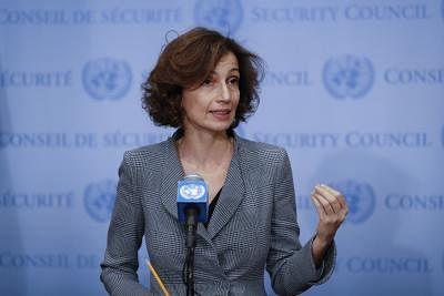 Audrey Azoulay. (File Photo: Xinhua/Li Muzi/IANS)