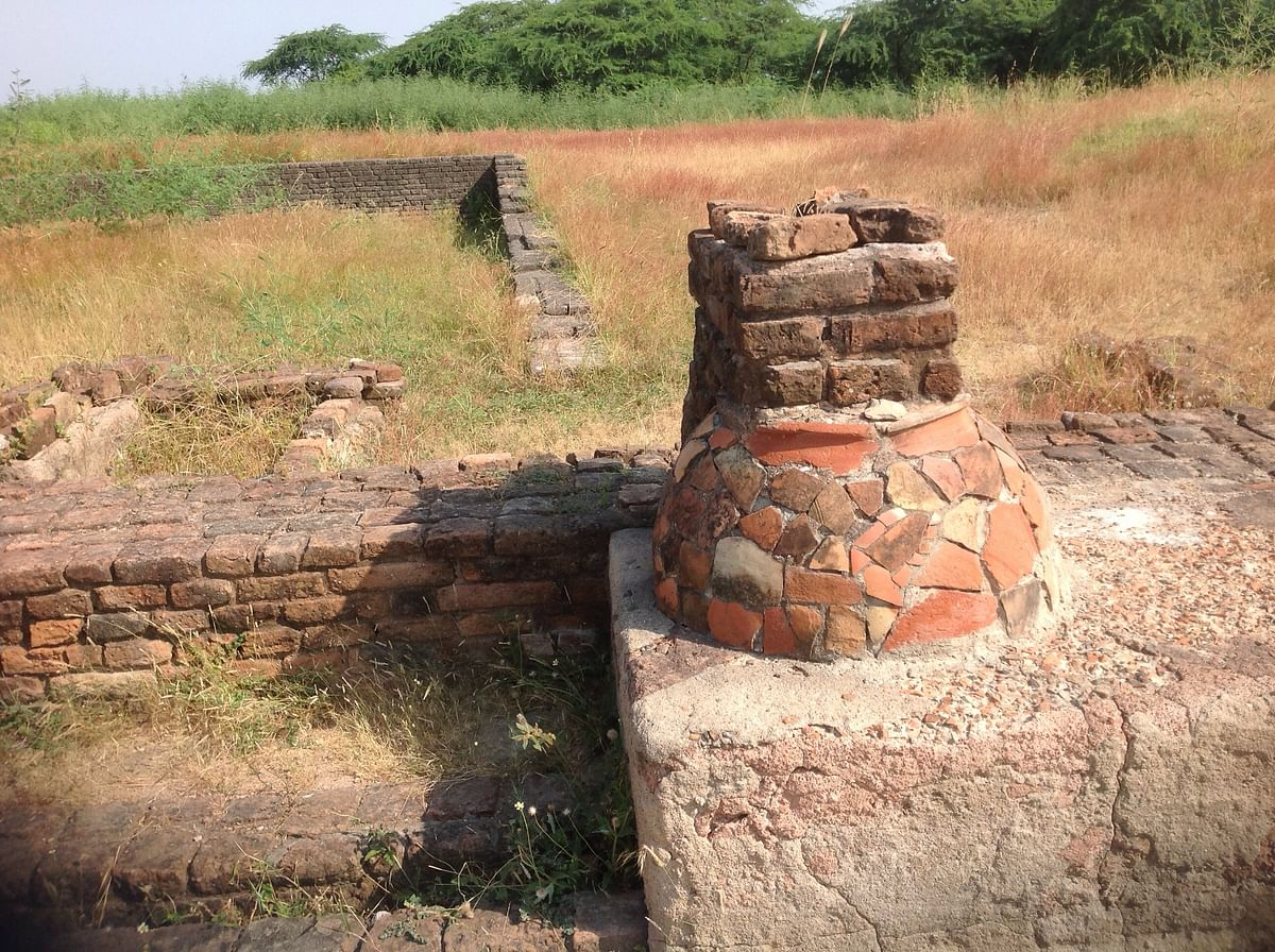 The Indus Valley port city of Lothal in Gujarat. (Photo Courtesy: Tony Joseph)