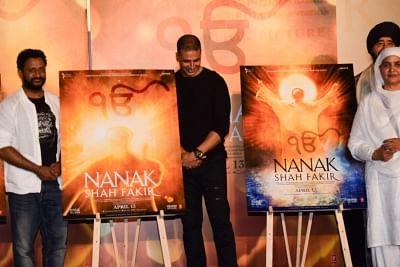 Mumbai: Actor Akshay Kumar at the trailer launch of Nanak Shah Fakir in Mumbai, on March 22, 2018. (Photo: IANS)