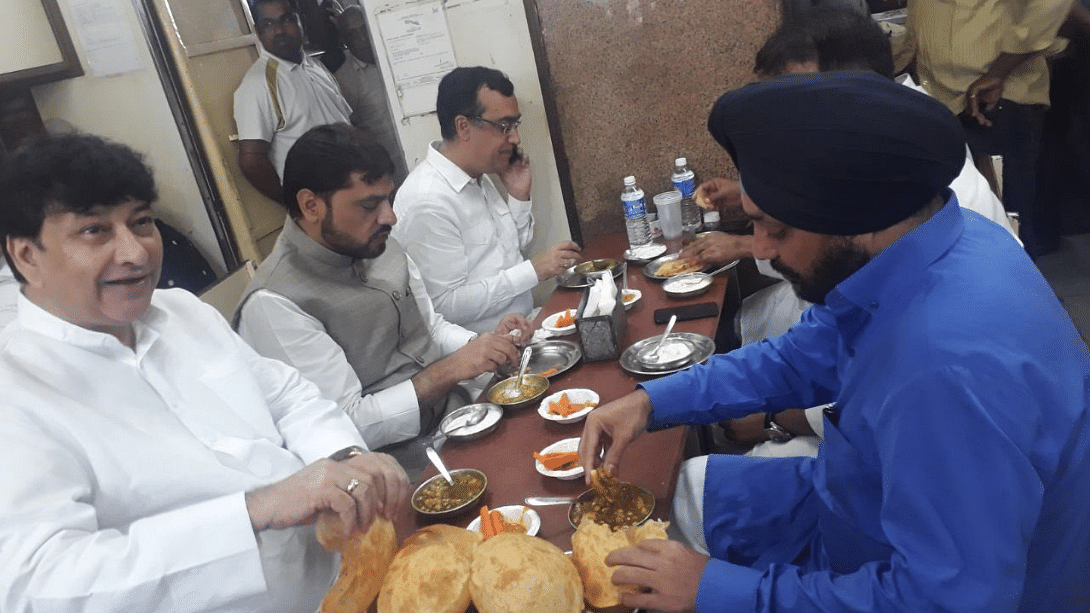 BJP Takes 'Bhatura' Potshots at Congress Over Nationwide Fast