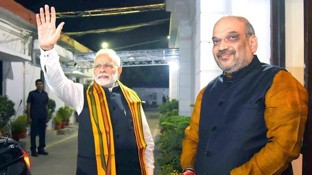 Prime Minister Narendra Modi and BJP chief Amit Shah.