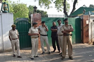 Patna: Security beefed up at RJD chief Lalu Prasad Yadav