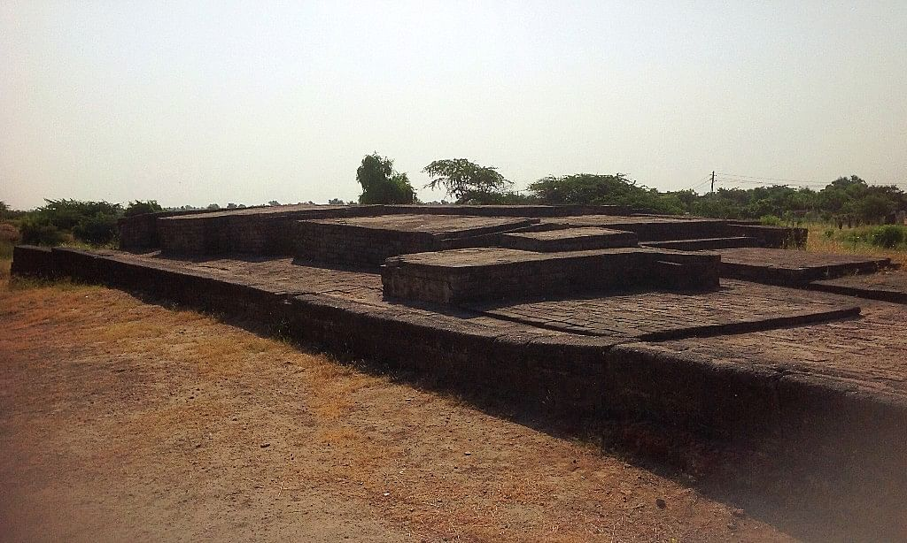 Indus Valley port city of Lothal in Gujarat. (Photo Courtesy: Tony Joseph)