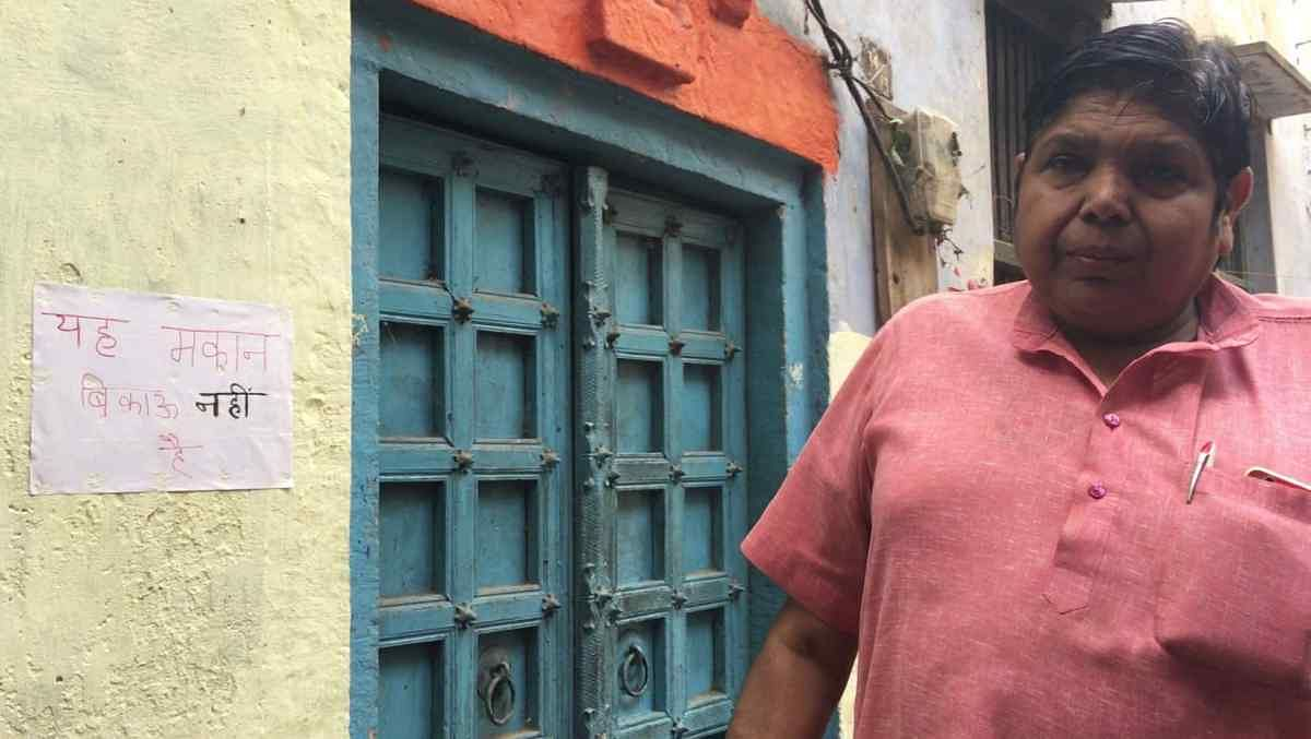 Kashi residents say they do not want to sell their homes.
