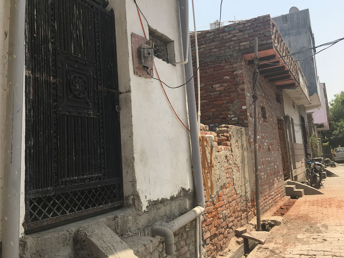 The maulvi's house in Arthala in Ghaziabad.