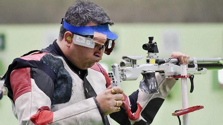 File photo of Gagan Narang.