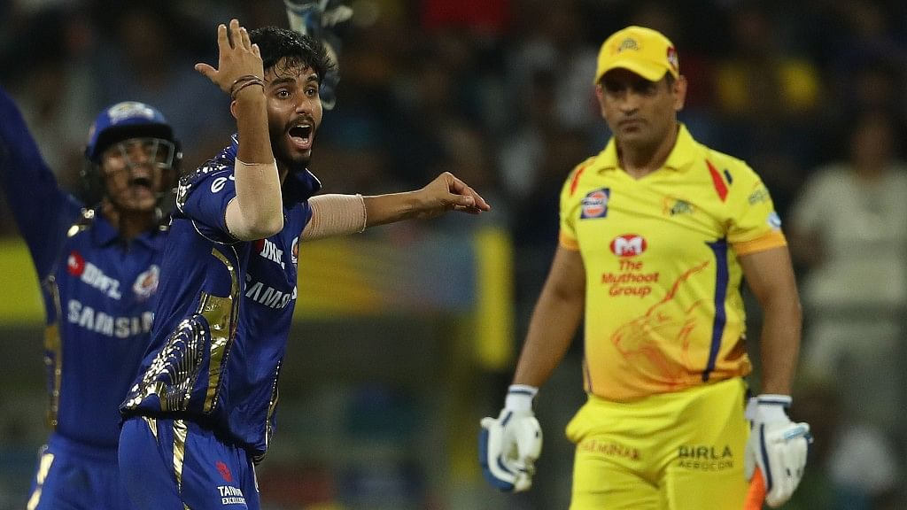 Mayank Markande foxed Chennai Super Kings' captain MS Dhoni with an unreadable googly.