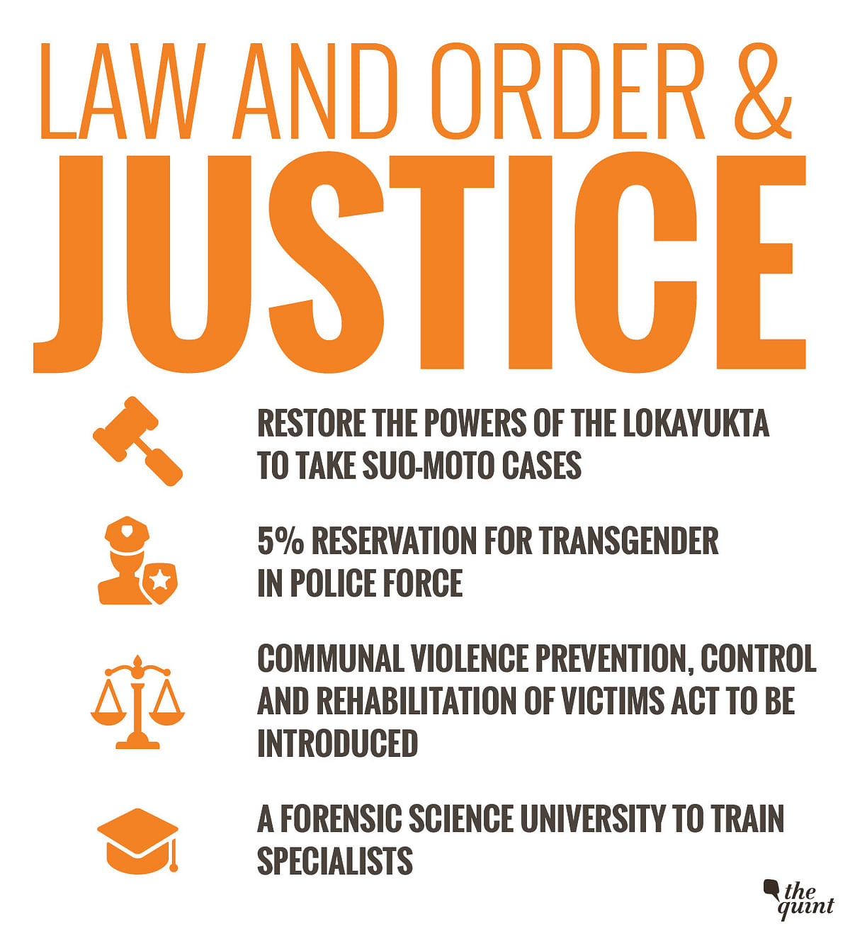 Law and Order and Justice