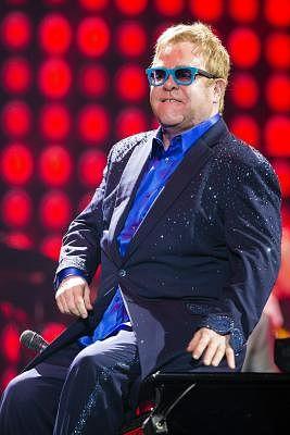 Elton John. (IANS/EFE/Jorge Zapata )