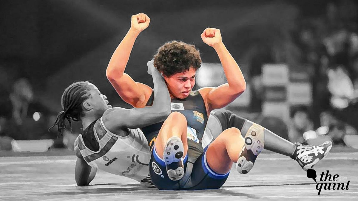 Indian wrestler Pooja Dhanda hopes to script her own success story.