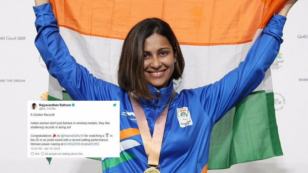 President of India, Sports Minister Rajyavardhan Rathore and VVS Laxman were among the one's who wished Sidhu on Twitter.