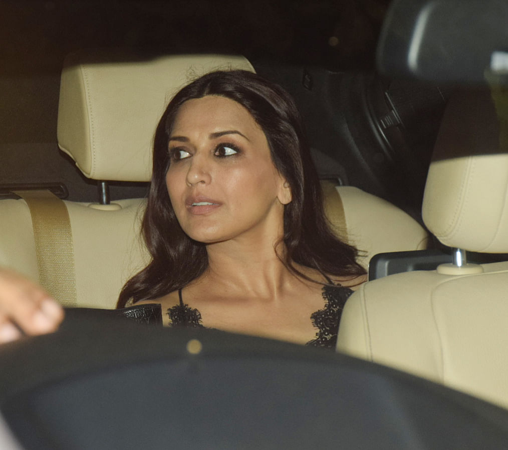 Sonali Bendre was also spotted.