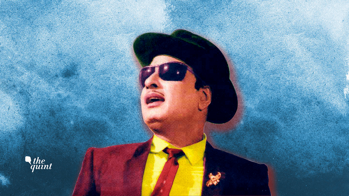 Image of Tamil Nadu's late superstar and  politician MGR used for representational purposes.