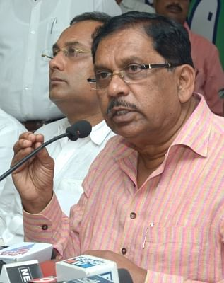 G. Parameshwara. (Photo: IANS)
