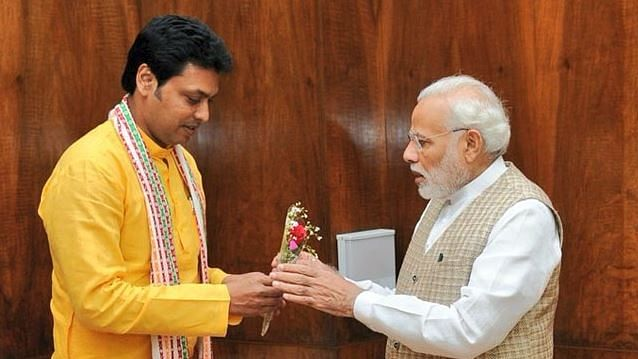 What Tripura CM Biplab Deb's Meeting with PM Could Look Like