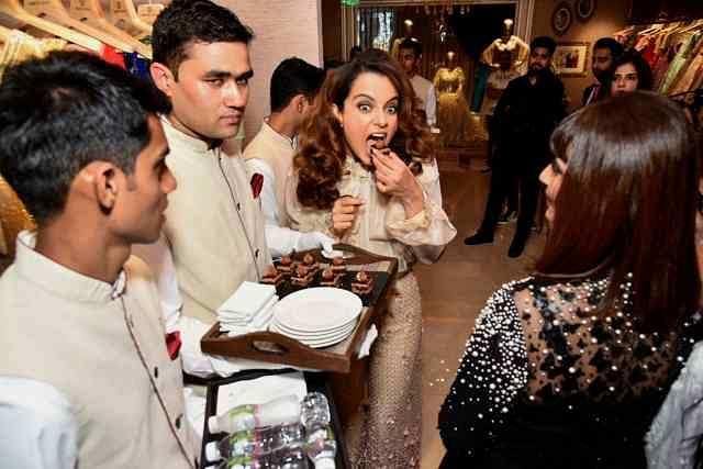 Kangana Ranaut at the launch.