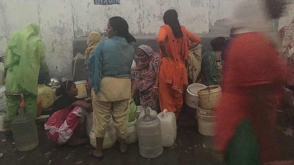 Women waiting for their turn to fill water. Image used for representational purpose.