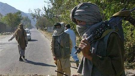 File image of Taliban militants.