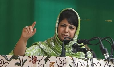 Jammu and Kashmir Chief Minister Mehbooba Mufti. (File Photo: IANS)