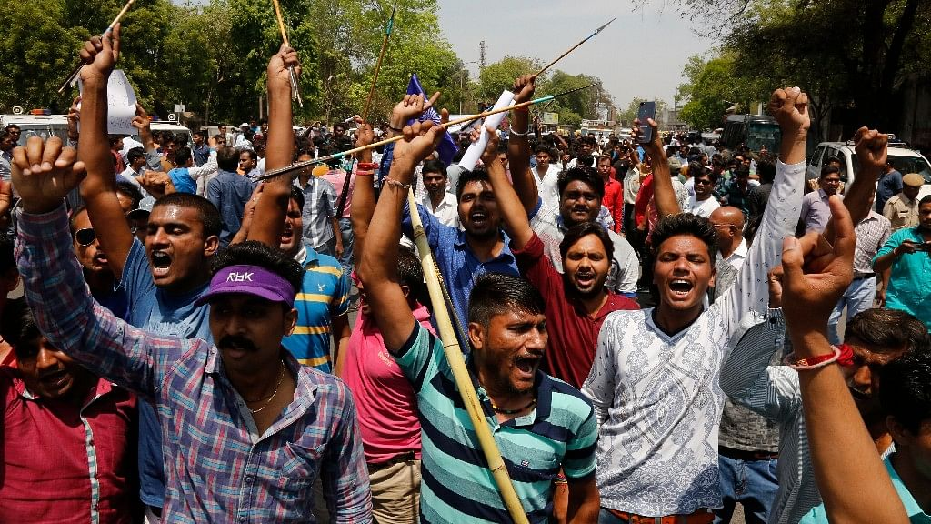 Dalit groups called for a Bharat Bandh on 2 April to protest against the Supreme Court's order, alleging dilution of the SC/ST Act.
