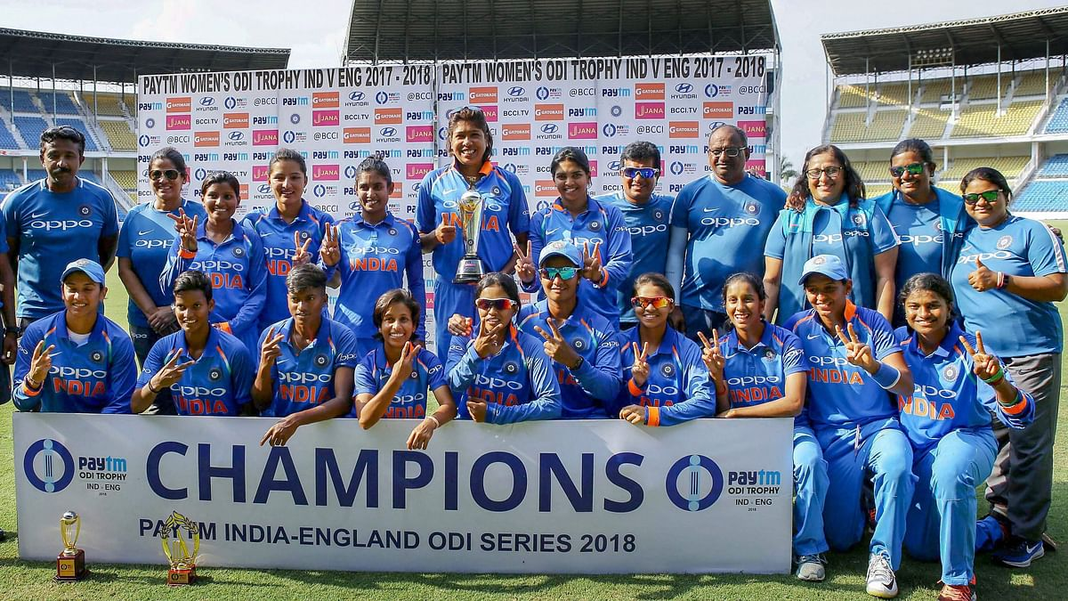 India clinched the three-match ODI series against England 2-1.