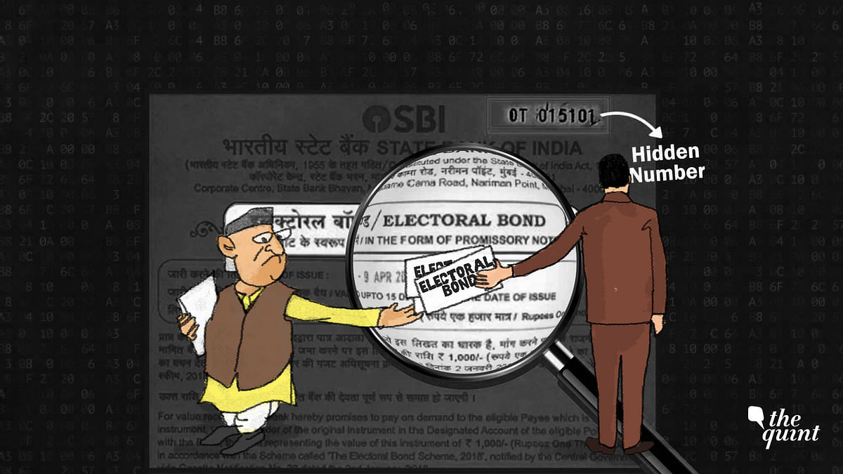 Should We Worry About the Invisible Numbers on Electoral Bonds?