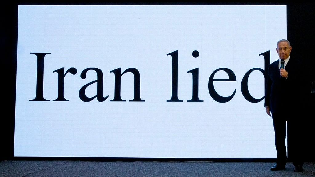 """""""Iran Lied"""": Israel Presents 'Proof' of Iran's Nuclear Files on TV"""