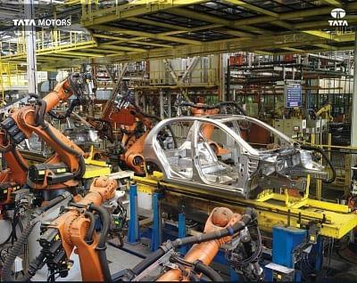 Manufacturing at a Tata Motors facility. (Photo: Tata Motors/Instagram)